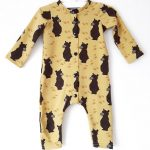 Brown bear onesie 1