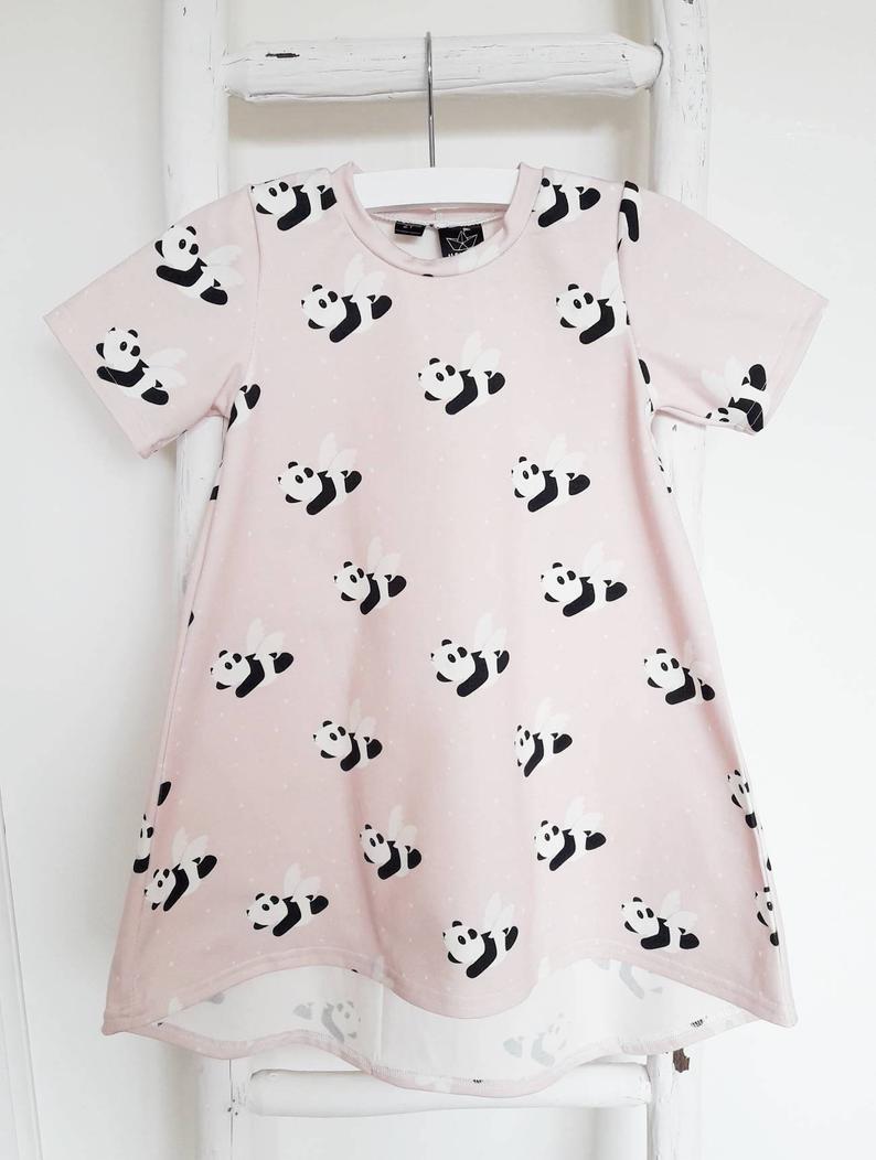 Flying Panda T-Dress 1