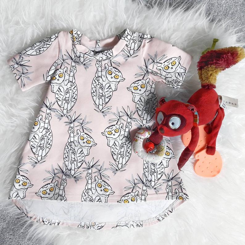 Monkey T-Dress 1